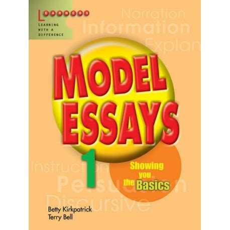 Model essay english pmr